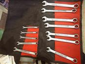 CRAFTSMAN 12PC COMBINATION WRENCH SET, 6MM-17MM
